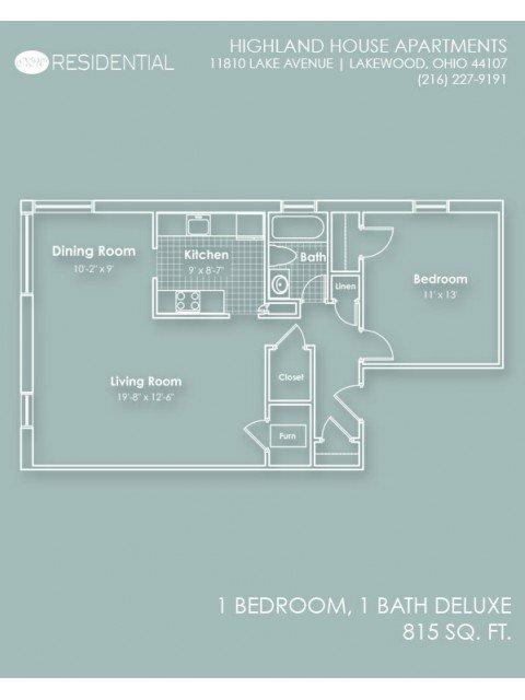 Highland House Apartments Lakewood, OH
