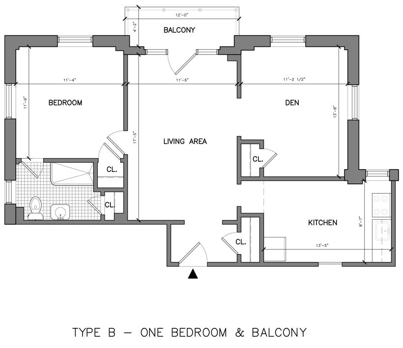 1 Bedroom 1 Bathroom Apartment for rent at Greenwood Terrace in Jenkintown, PA