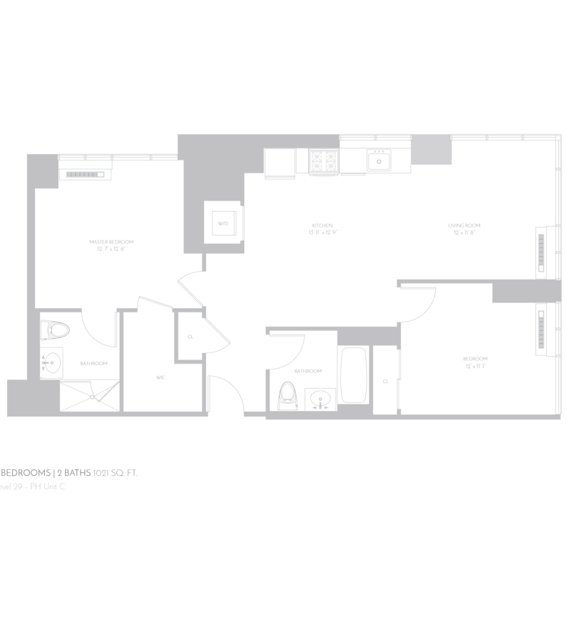 2 Bedrooms 2 Bathrooms Apartment for rent at 5th Avenue & East 32nd Street in New York, NY