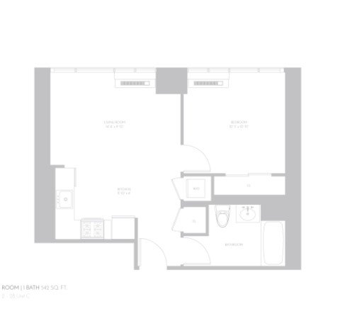 1 Bedroom 1 Bathroom Apartment for rent at 5th Avenue & East 32nd Street in New York, NY
