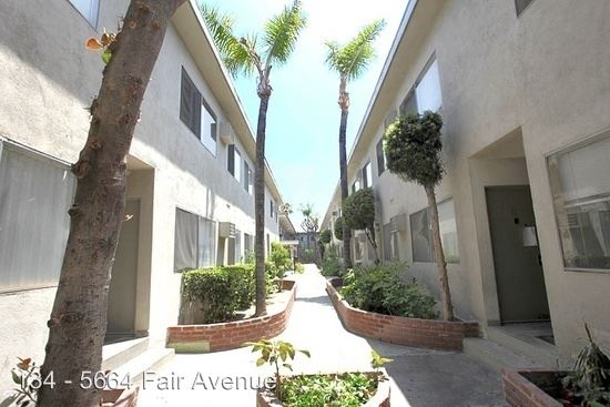 1 Bedroom 1 Bathroom Apartment for rent at 5664 Fair Ave. in North Hollywood, CA