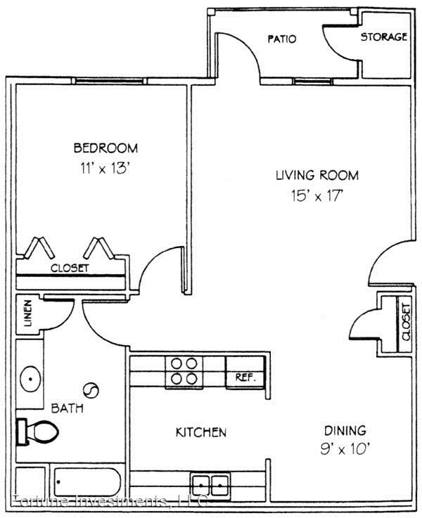 1 Bedroom 1 Bathroom Apartment for rent at 6522-28 Lake Rd in Windsor, WI