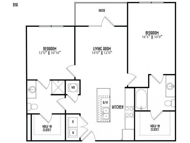 2 Bedrooms 2 Bathrooms Apartment for rent at District At Duluth in Duluth, GA