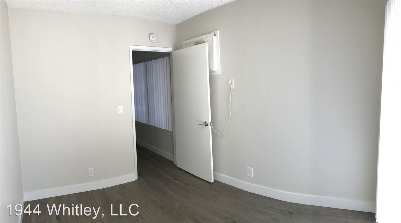 2 Bedrooms 1 Bathroom Apartment for rent at 1944 Whitley Ave in Los Angeles, CA