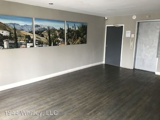 1 Bedroom 1 Bathroom Apartment for rent at 1944 Whitley Ave in Los Angeles, CA