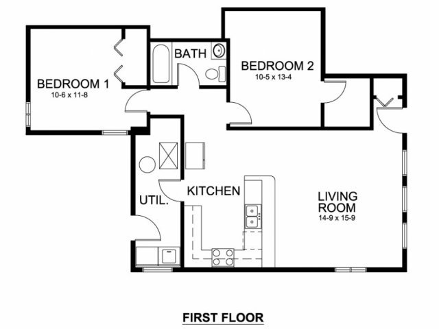 2 Bedrooms 1 Bathroom Apartment for rent at Church Street Apartments in Ann Arbor, MI