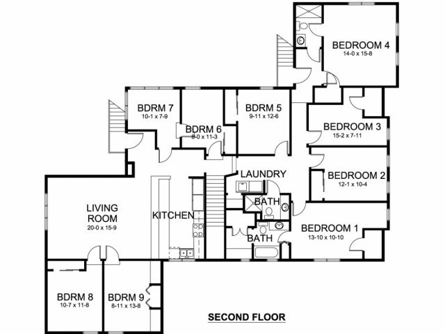 8+ Bedrooms 3 Bathrooms Apartment for rent at Church Street Apartments in Ann Arbor, MI