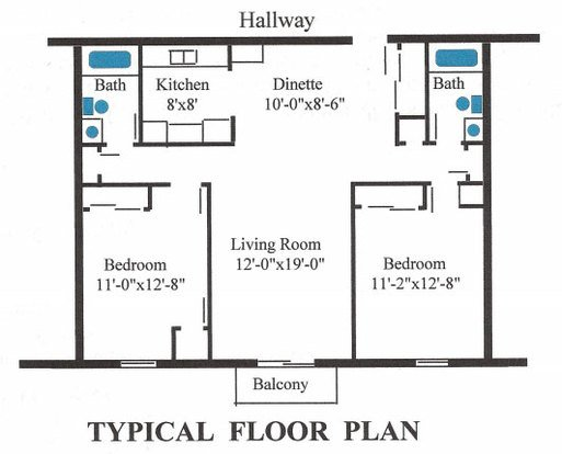 2 Bedrooms 2 Bathrooms Apartment for rent at Manorview Apartments in Milwaukee, WI