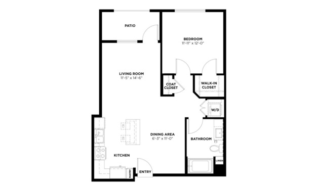 1 Bedroom 1 Bathroom Apartment for rent at Turing in Milpitas, CA