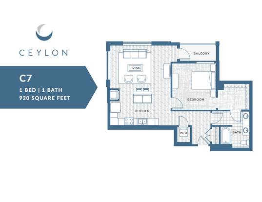1 Bedroom 1 Bathroom Apartment for rent at Ceylon in Clayton, MO