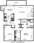 2 Bedrooms 2 Bathrooms Apartment for rent at Heritage Ridge in Manhattan, KS