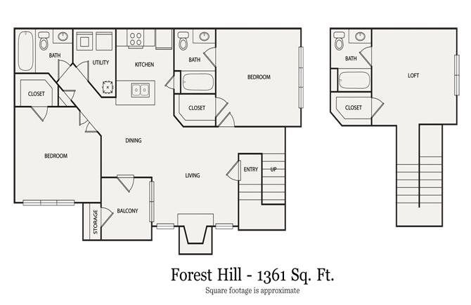 3 Bedrooms 3 Bathrooms Apartment for rent at Walton At Columns Drive in Marietta, GA