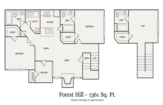 3 Bedrooms 3 Bathrooms Apartment for rent at Walton At Columns Drive in Marietta, GA