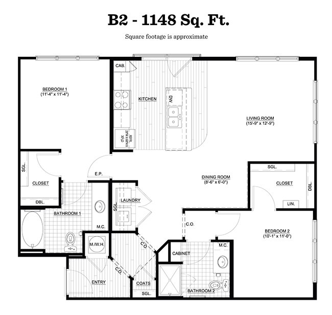 2 Bedrooms 2 Bathrooms Apartment for rent at Walton Riverwood in Atlanta, GA