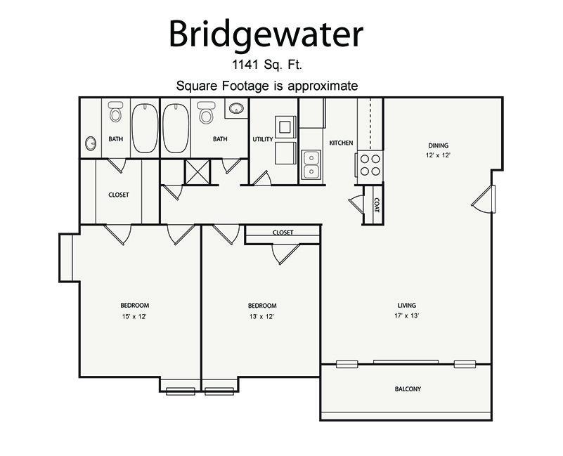 2 Bedrooms 2 Bathrooms Apartment for rent at Walton River in Atlanta, GA