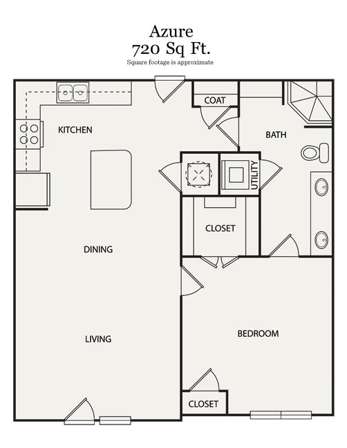 1 Bedroom 1 Bathroom Apartment for rent at Walton Ashwood in Atlanta, GA