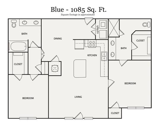 2 Bedrooms 2 Bathrooms Apartment for rent at Walton Ashwood in Atlanta, GA