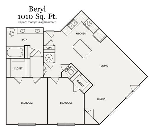 2 Bedrooms 1 Bathroom Apartment for rent at Walton Ashwood in Atlanta, GA