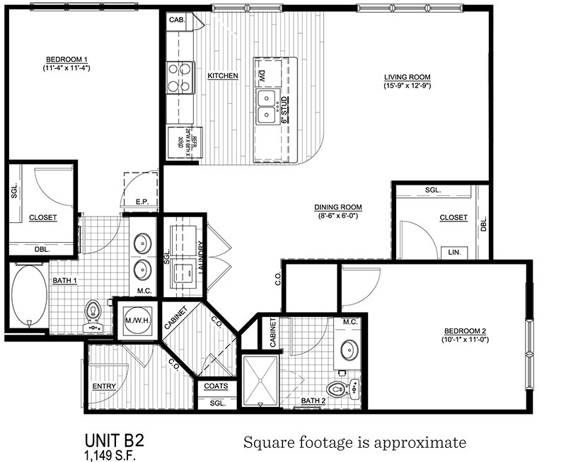 2 Bedrooms 2 Bathrooms Apartment for rent at Walton Westside in Atlanta, GA