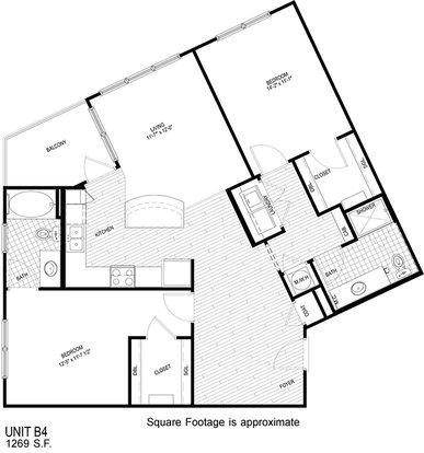 2 Bedrooms 2 Bathrooms Apartment for rent at Walton Westside in Atlanta, GA