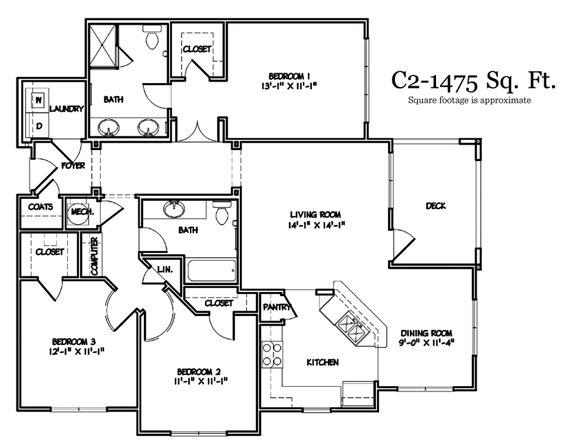 3 Bedrooms 2 Bathrooms Apartment for rent at Walton Lakes in Atlanta, GA