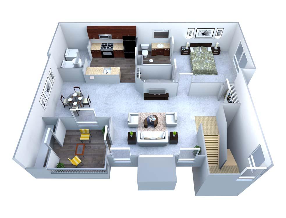 1 Bedroom 1 Bathroom Apartment for rent at Walton At Columns Drive in Marietta, GA