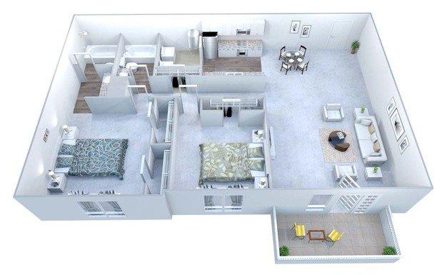 2 Bedrooms 2 Bathrooms Apartment for rent at Walton Grove in Smyrna, GA