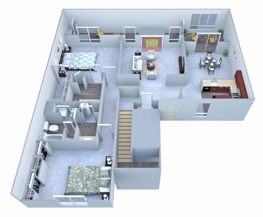 2 Bedrooms 2 Bathrooms Apartment for rent at Walton At Columns Drive in Marietta, GA