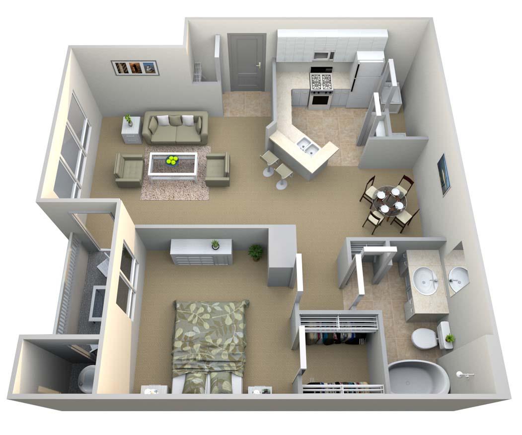 1 Bedroom 1 Bathroom Apartment for rent at Walton Vinings in Smyrna, GA