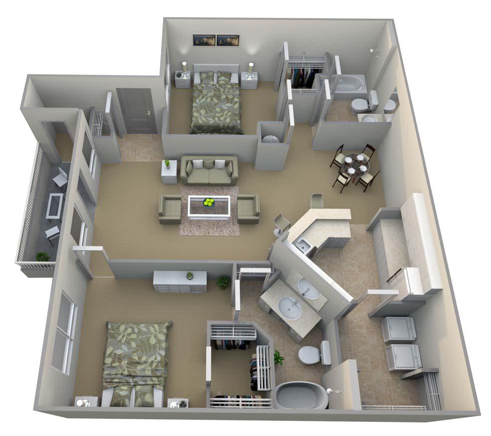 2 Bedrooms 2 Bathrooms Apartment for rent at Walton Vinings in Smyrna, GA
