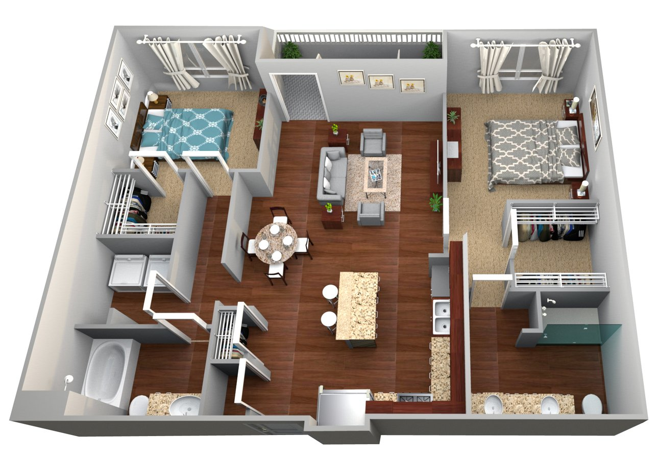 2 Bedrooms 2 Bathrooms Apartment for rent at Woodstock West by Walton in Woodstock, GA
