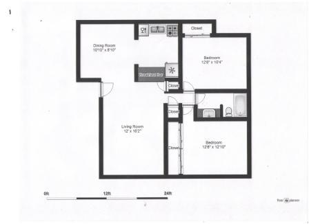 2 Bedrooms 1 Bathroom Apartment for rent at Jenewein Apartments in Fitchburg, WI