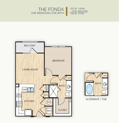 1 Bedroom 1 Bathroom Apartment for rent at The Mark Huebner Oaks in San Antonio, TX