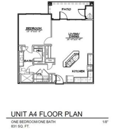 1 Bedroom 1 Bathroom Apartment for rent at Landmark Southpark in Austin, TX