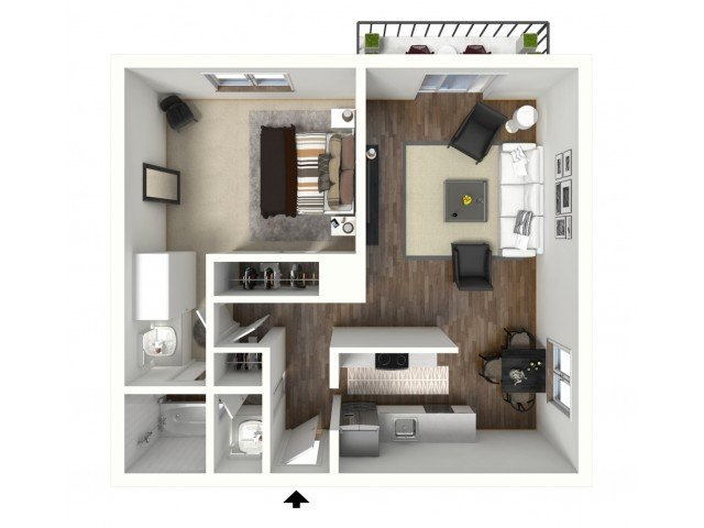 1 Bedroom 1 Bathroom Apartment for rent at Walnut Terrace in Walnut Creek, CA