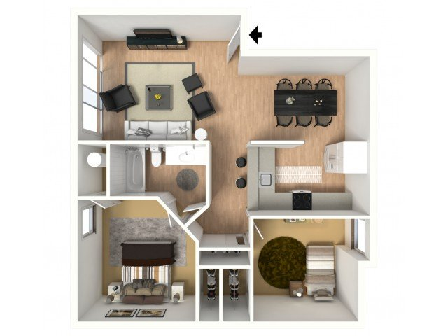 2 Bedrooms 1 Bathroom Apartment for rent at Monterra Apartments in Bellingham, WA