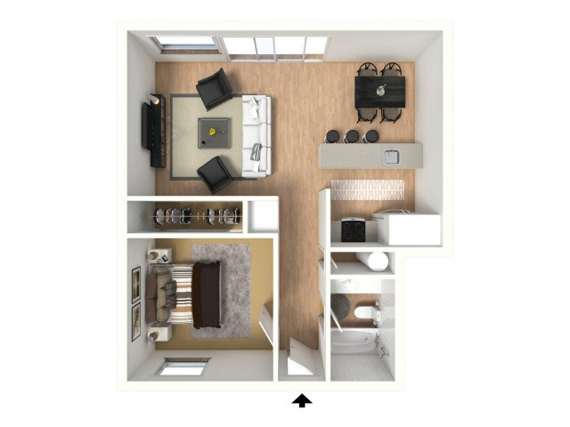 1 Bedroom 1 Bathroom Apartment for rent at Monterra Apartments in Bellingham, WA