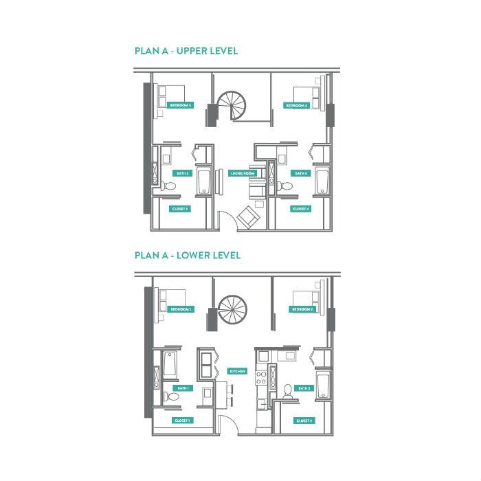 2 Bedrooms 2 Bathrooms Apartment for rent at Evo Philly At Cira Centre South in Philadelphia, PA