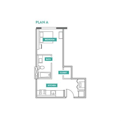 1 Bedroom 1 Bathroom Apartment for rent at Evo Philly At Cira Centre South in Philadelphia, PA