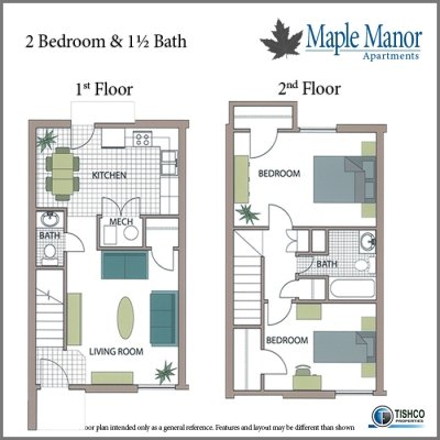 2 Bedrooms 2 Bathrooms Apartment for rent at Maple Manor in Fayetteville, AR
