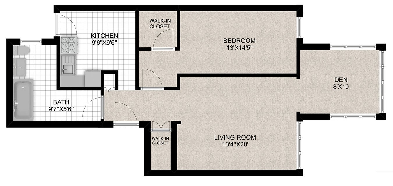 1 Bedroom 1 Bathroom Apartment for rent at 430 W. Diversey in Chicago, IL
