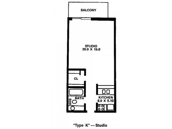 Studio 1 Bathroom Apartment for rent at River's Edge Apartments in Madison, WI