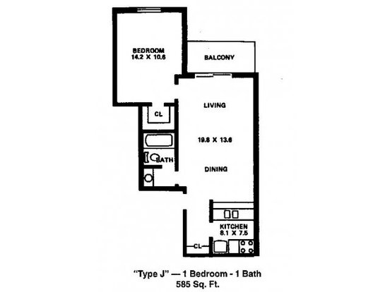 1 Bedroom 1 Bathroom Apartment for rent at River's Edge Apartments in Madison, WI
