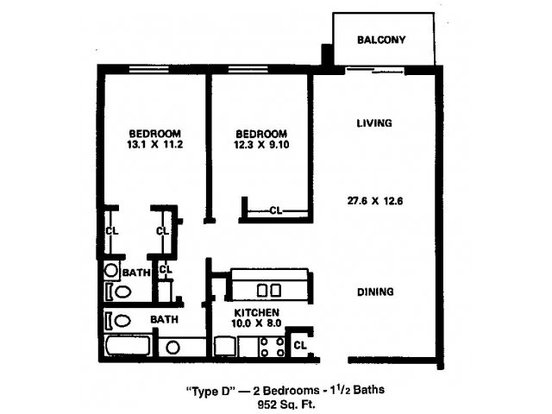 2 Bedrooms 1 Bathroom Apartment for rent at River's Edge Apartments in Madison, WI