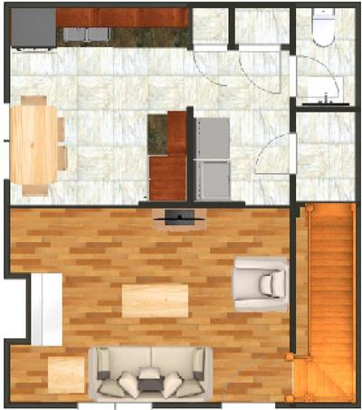 2 Bedrooms 1 Bathroom Apartment for rent at 911 S Oak in Champaign, IL