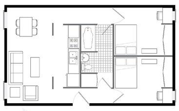 2 Bedrooms 1 Bathroom Apartment for rent at 56/58 E. Daniel in Champaign, IL