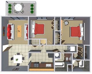 2 Bedrooms 2 Bathrooms Apartment for rent at Summer Pointe Apartments in Norman, OK