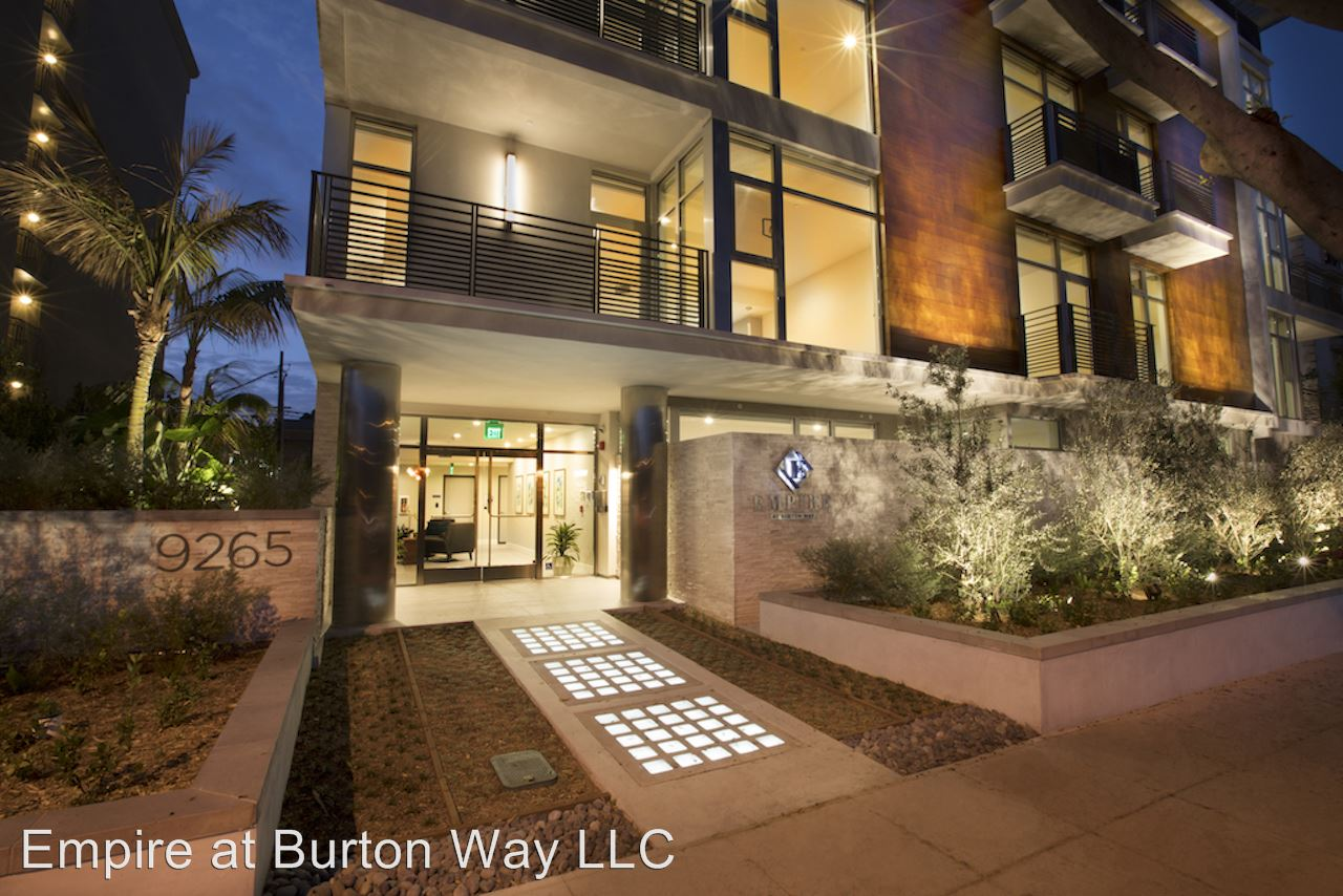 9265 Burton Way Beverly Hills Ca Apartment For Rent