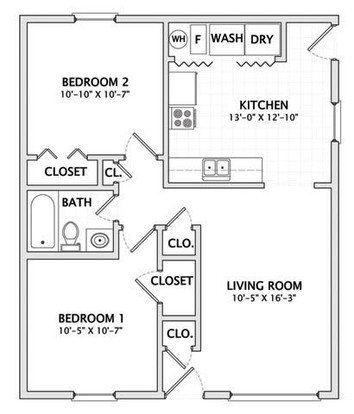 2 Bedrooms 1 Bathroom House for rent at 910 S. Webber in Urbana, IL