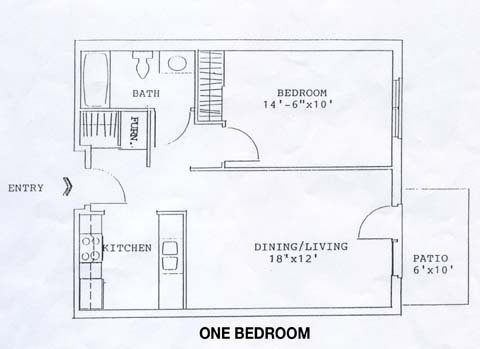 1 Bedroom 1 Bathroom Apartment for rent at 641 W Main in Madison, WI